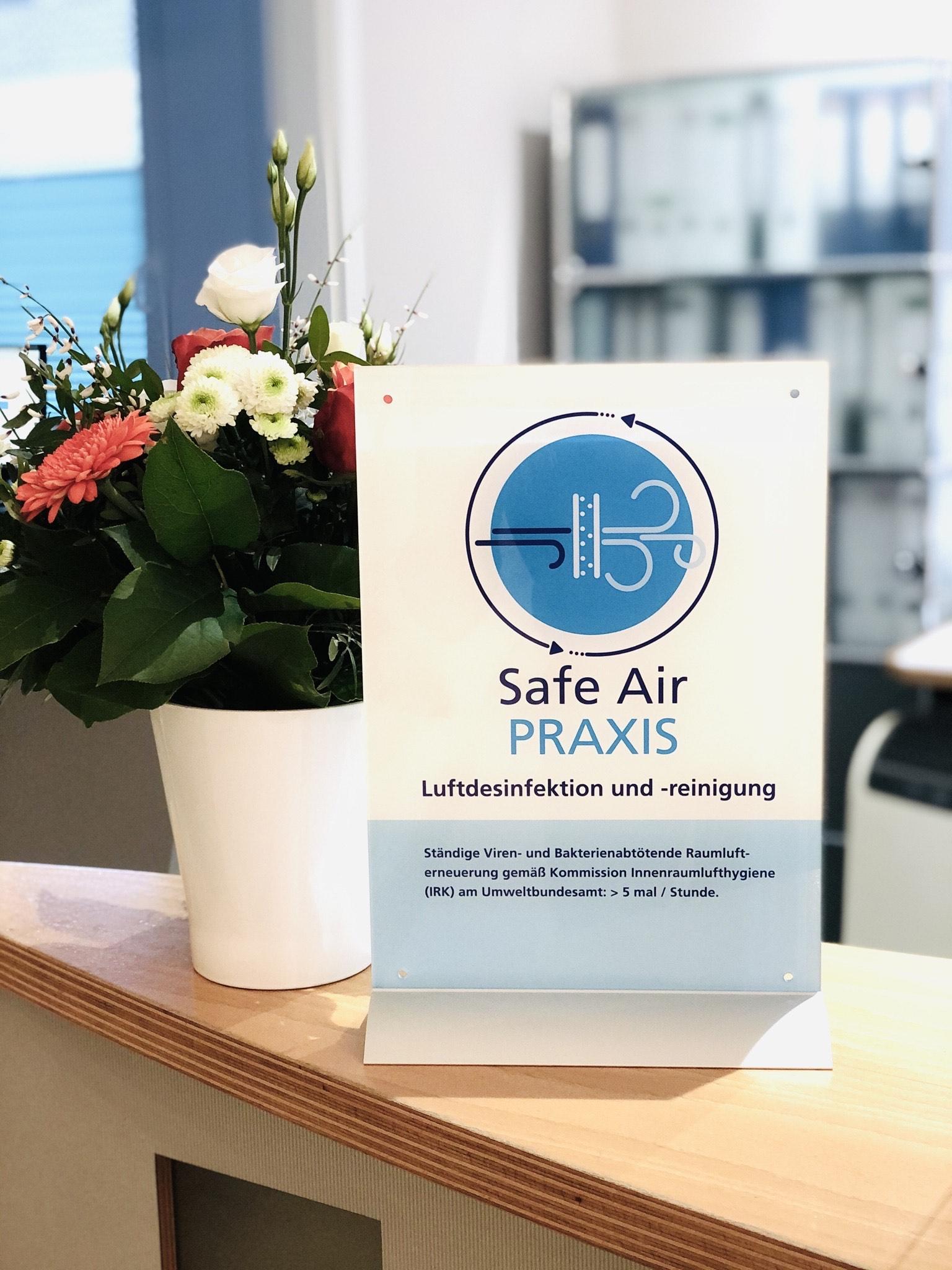 Wir sind eine Safe Air Praxis! - IMG 6046